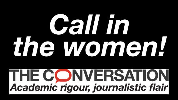 Call in the women!