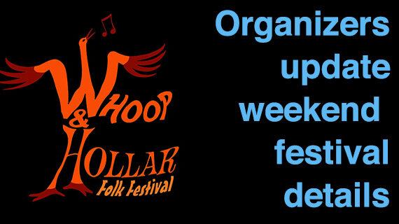 Whoop & Hollar festival details delivered