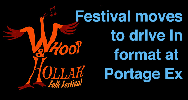 Whoop & Hollar allowed as drive in festival