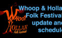 Whoop &Hollar Folk Festival lineup and ticket update