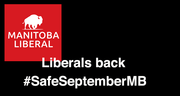 Remote learning not forced homeschooling: Liberals back #SafeSeptemberMB