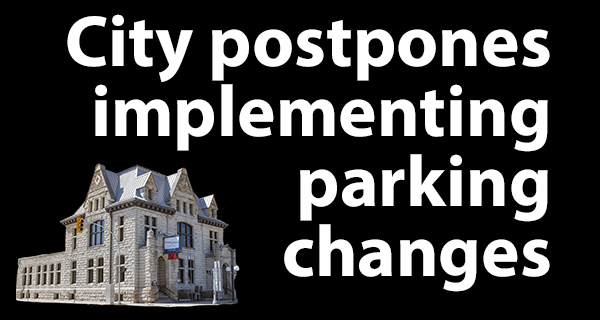 Council pauses parking strategy
