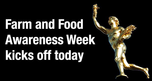 Manitoba kicks off sixth annualFarm and Food Awareness Week