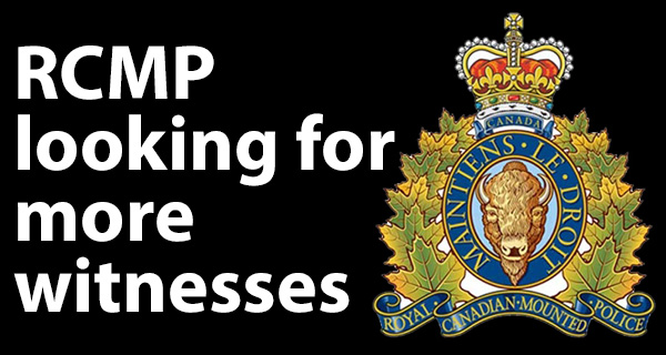 RCMP looking for more witnesses to serious collision