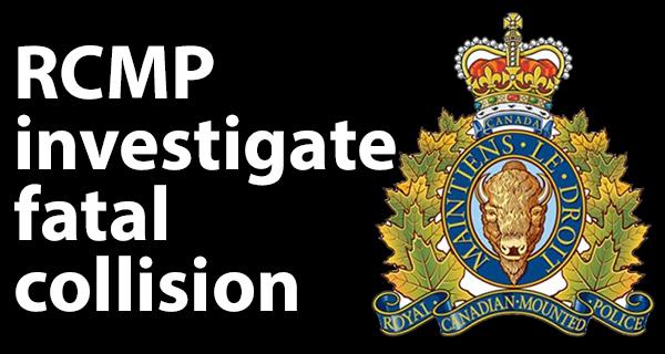 RCMP investigate fatal vehicle-train collision