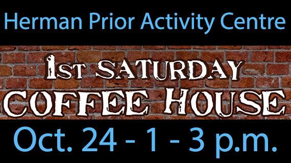 1st Saturday Coffee House returns