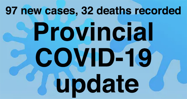 Provincial COVID-19 update for Oct. 10