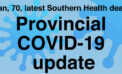 Provincial government update for Oct. 13