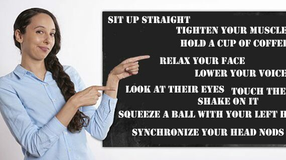 10 powerful and simple body language tips