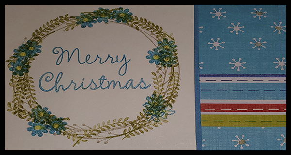 Cropping cards to beat COVID-19 Christmas blues
