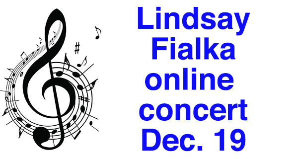 Free Fialka concert on Dec. 19