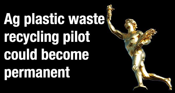 Ag recycling pilot program moves ahead