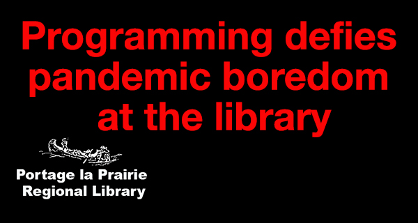Library programming defies pandemic boredom