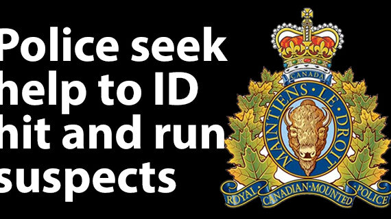 RCMP ask for help in identifying hit and run suspects