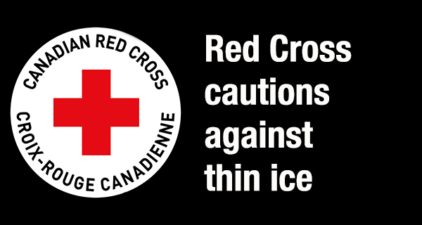 Red Cross promotes ice safety