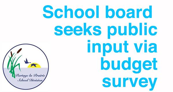 Portage la Prairie School Division 2021-2022 Budget Survey