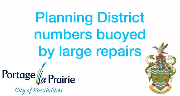 Repair permits highlight planning district report