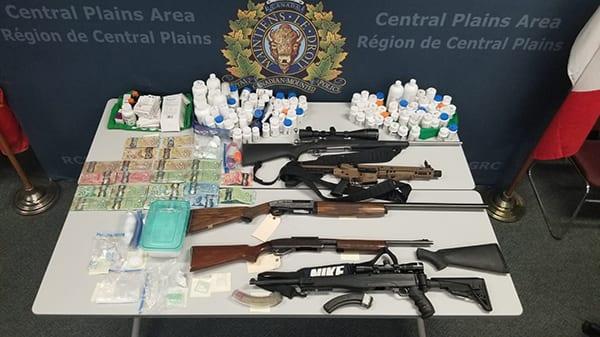 RCMP warrants result in eight arrests
