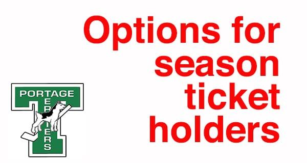 Terriers offer season ticket holders options