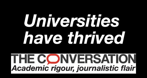Universities have thrived despite past disruptions and could grow even stronger afterCOVID-19