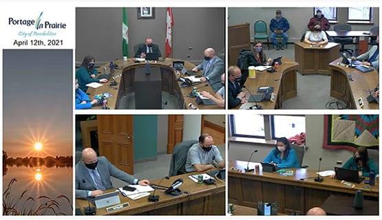 City of Portage la Prairie Council April 12th, 2021
