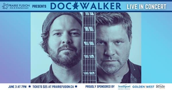 Doc Walker fundraising concert