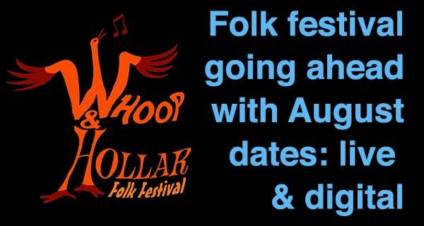 Folk festival going ahead this summer