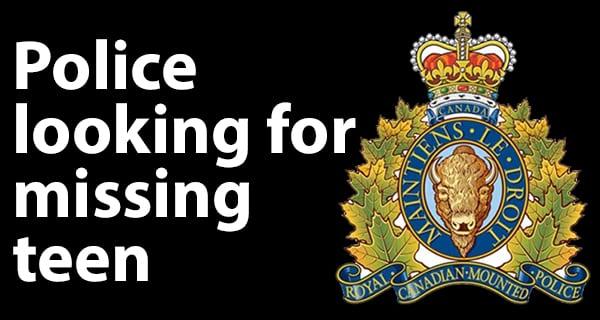 Portage la Prairie RCMP looking for missing teen