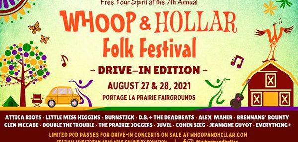 Whoop & Hollar festival kicks off Aug. 27