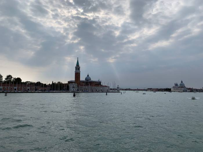 The view of San Marco square before the Acqua Alta high tides of November 2019. Photo by Mike Robinson